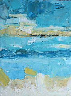 Coastal Oil Abstract Diana Mulder