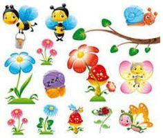 Risultati immagini per disegni per camerette da bambini