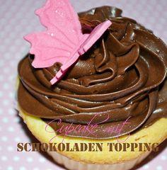 Cupcake mit Schokoladen-Topping I www.sweetundstyle.blogspot.de