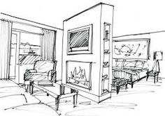 Interior Design Sketch   Google Search
