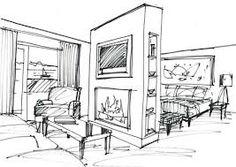 Interior Design Sketches On Pinterest Interior Design Sketches