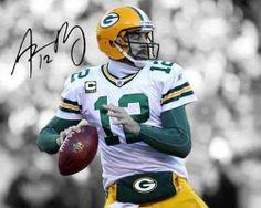 "Aaron Rodgers Green Bay Packers QB MVP Signed 8x10"" Photo Autograph Reprint http://clektr.com/bMh5"