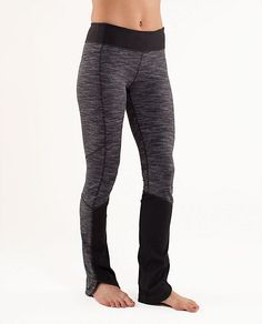 Run: Chase Me Pant from Lululemon (wee are from space black combo/black)= love