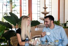 Take a coffee in our beautiful lobby area.