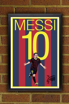 Messi 10 Barcelona FC Fußball - Brasilien WM-Plakat  Lionel Messi, Argentinien Fußball-Poster ist für ein Plakat nur. Das Plakat kommt mit Variationen Boys Football Bedroom, Soccer Bedroom, Football Wall, Boys Bedroom Decor, Lionel Messi Barcelona, Barcelona Football, Fc Barcelona, Messi Poster, Soccer Poster