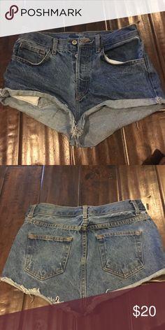 Brandy Melville jean shorts Denim shorts Brandy Melville Shorts Jean Shorts