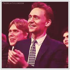 Tom Hiddleston at the MTV 2013 Movie Awards. Gif-set (by fromlatolondon): http://maryxglz.tumblr.com/post/165517427287/vicariousvictoria-the-haven-of-fiction