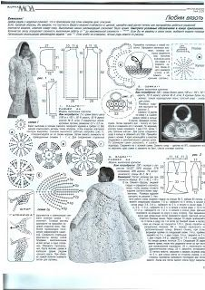 Coat crochet for women in the Irish style: 11 thousand images found in Yandex. Irish Crochet Tutorial, Crochet Diagram, Freeform Crochet, Crochet Shawl, Crochet Coat, Crochet Jacket, Lace Jacket, Crochet Clothes, Crochet Flower Patterns