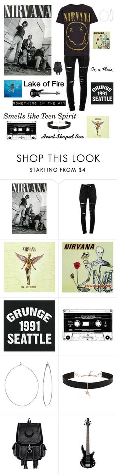 """""""Nirvana"""" by im-karla-with-a-k ❤ liked on Polyvore featuring Yves Saint Laurent, Phyllis + Rosie, Diane Kordas and MA'AN"""