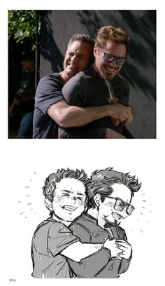 Science bros! || Mark & Robert / Bruce & Tony || Avengers Infinity War BTS || Cr: D디