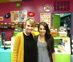 Keltie and Kinna Grannis from that jellybean music video! See more here: http://insdr.co/ILG5Zi