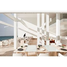 Mar Adentro Hotel and Residences — San José del Cabo, Mexico San Jose Del Cabo, Miguel Angel, Cafe Interior, Interior Design Kitchen, Interior Ideas, Hotels, Wallpaper Magazine, French Countryside, Cafe Restaurant