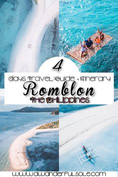A detailed Travel Guide to the enchanting province of Romblon Philippines. Diy On A Budget, Budget Travel, Travel Guide, Non Working Holiday, Automated Teller Machine, Jeepney, Cliff Diving, Ferry Boat, Small Island