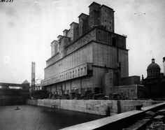 John S. Metcalf Co. Ltd. Engineers, Grain Elevator No. 2, Montreal Harbor, 1912