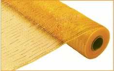 Check out the deal on Deco Poly Mesh - Metallic Gold 21 Inch Roll at Battery Operated Candles Mesh Ribbon, Black Ribbon, How To Make Wreaths, How To Make Bows, Yellow Ladybug, Wreath Making Supplies, Plastic Mesh, Deco Mesh Wreaths, Gold Foil