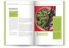 Fruit & Veg Grower's Cookbook by Anna DeFazio, via Behance