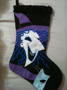 nightmare before christmas shock inspired christmas by redtastic, $50.00
