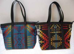 Tote Bag - Wool by Pendelton from CarolSMiller on Etsy