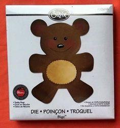 Sizzix Bigz bear die
