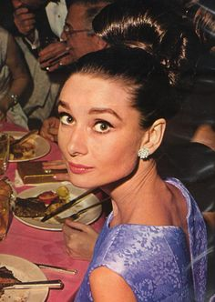 Audrey Hepburn in the early 60s