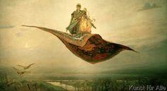 Viktor Michailowitsch Wasnezow - Der fliegende Teppich