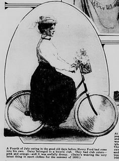 1900 D Tribune Bicycle American Bicycle Co Cyclist Chasing Train Print Ad Merchandise & Memorabilia