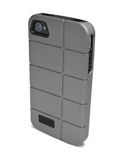 iFrogz Cocoon Case for Apple iPhone 4/4S - 1 Pack - Retail Packaging - Silver/Black. Two-piece case with Luxe finish poly-carbonate exterior and pliable, impact-resistant TPU interior. Guards against impact damage. Shields surface from dust and scratches. Allows access to all ports, inputs, and sensors. Compatible with all iPhone 4/4S models.