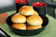 My Kitchen Snippets: Chinese Baked BBQ Meat Buns