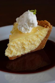Key Lime Pie Goodness...with Coconut-Pecan Graham Cracker Crust!!