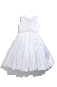 6190dc6b2f97a Joan Calabrese for Mon Cheri Pleated Bubble Dress (Little Girls & Big  Girls) | Nordstrom. Bubble SkirtFirst Communion ...