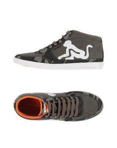 DRUNKNMUNKY Men's High-tops & sneakers Dark brown 11 US