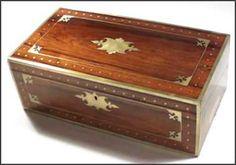 Hygra: caja de escribir inglesa de 1815