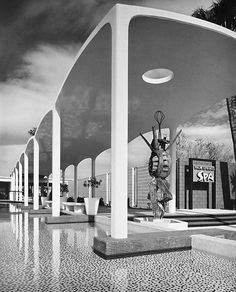 SPA HOTEL BATH HOUSE by DONALD WEXLER (1958)