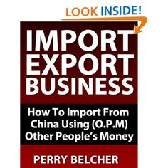 Just saw this book,I think it may be worth a look it's called the   Import Export Book