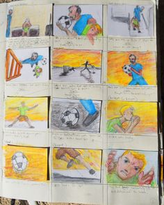 Page 6 of Trollie storyboards from sketchbook