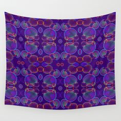 Bubbles Wall Tapestry