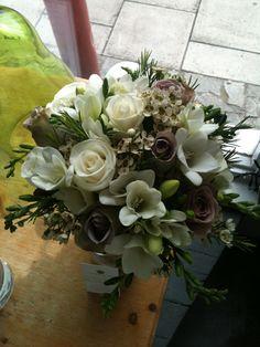 vintage bridal posy - Designed by Angela Adlard Floristry