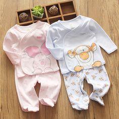 Внешней торговли детской одежды осень с длинным рукавом кардиган брюки ноги костюм новорожденного мужчины и женщины сокровище двух-пакет