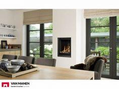 Barbas Unica-2 70 gashaard   van Manen haarden en kachels Windows, Decor, House, Home, Interior, Fireplace, Renovations, Home Decor