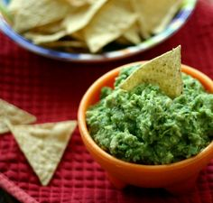 Super Bowl Snack Ideas and Everyday Guacamole - 2 Points Plus per serving.  Serves 16