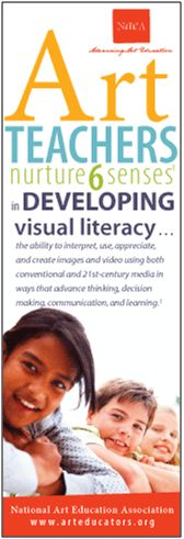 Art teachers nurture 6 senses in developing visual literacy.