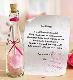 1800flowers message in a bottle
