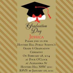 Graduation Owl Postcard In Nude Invitation Impressive