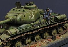 Dioramas and Vignettes: JS-2 early, photo #9
