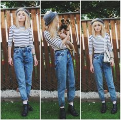Topshop Bowler Hat, Zara Organic Cotton Tee, Topshop Mom Jeans, Primark Black Skinny Belt, Topshop Pink Glittery Socks, Topshop Vintage Style Boots, E Bay White Satchel