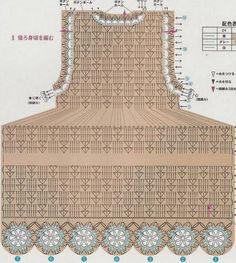 Tecendo Artes em Crochet: Vestuário infantil