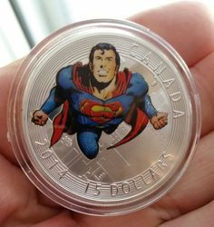 1oz silver plated Superman coin Superman, Silver Plate, Plating, Coins, Stamps, Coining, Silverware Tray, Postage Stamps, Stamp