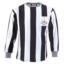 Show details for Newcastle United 1969 Fairs Cup Retro //.,MAR16Football Shirt