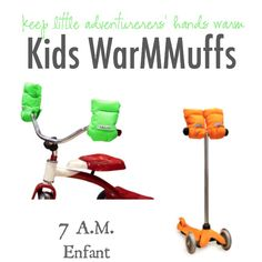 Stay Active in Cold Weather with 7A.M. KIDS WarMMuffs   The Shopping Mama