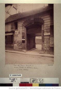 Ancienne Rue De La Parcheminerie Apr 232 S La D 233 Molition De La